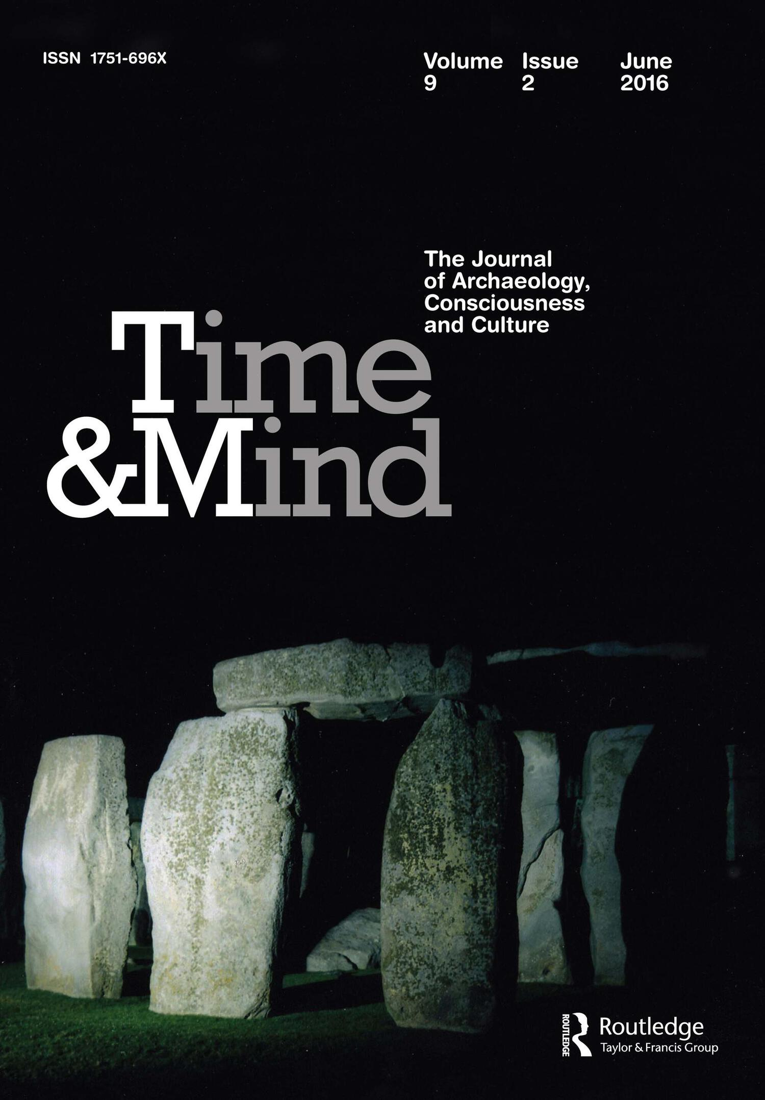 Time & Mind Volume 9 Issue 2